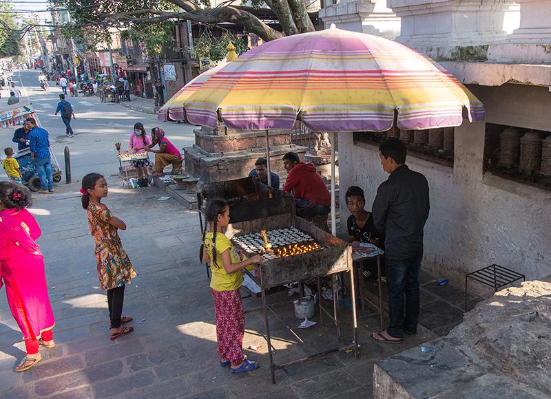 Nepal, Swayambhunath 2017