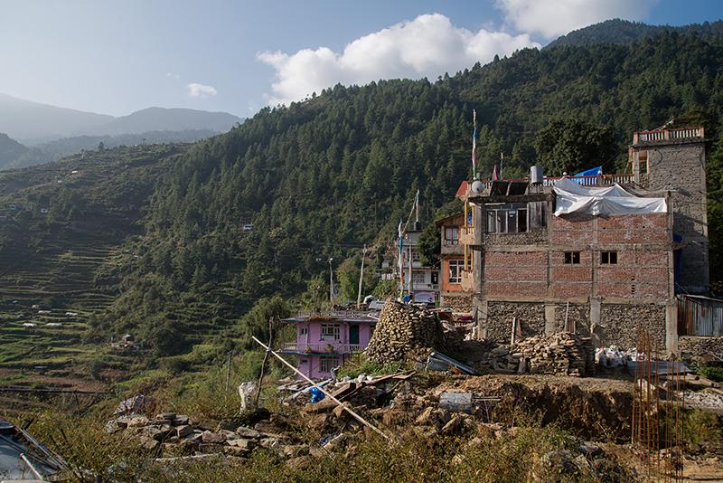 Thulo Syabru - Lama Hotel 18-10-17