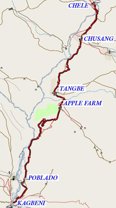 Kagbeni-Chele 13-11-19