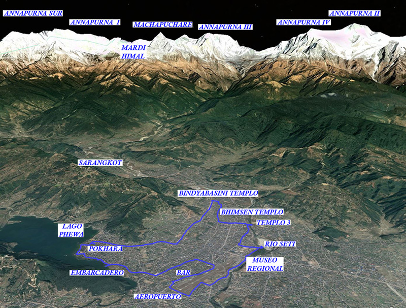 Nepal 23  -11-19 Pokhara-Bindyabasini
